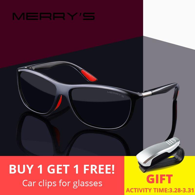 MERRYS CONCEPTION Hommes HD lunettes de Soleil Polarisées Sport lunettes de pêche UV400 Protection S8310