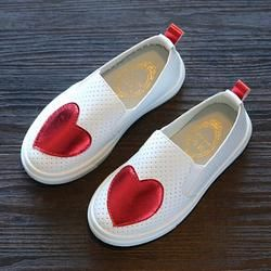 TELOTUNY niños niñas moda amor cuero princesa zapatos solo Casual para niñas zapatos JA10