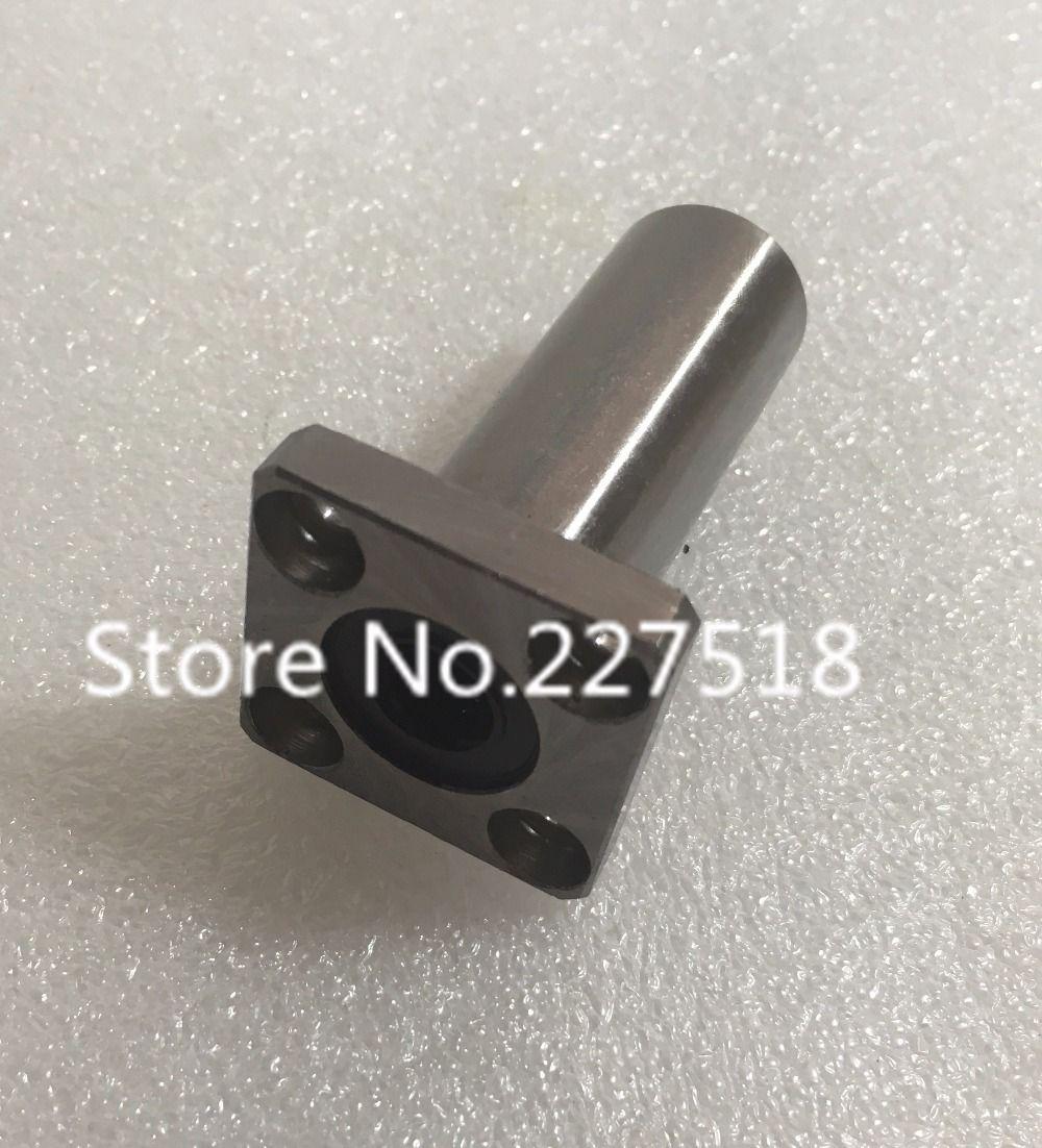 3D printer 1pcs LMK30LUU 30mm Longer Extended Flanged Type Linear Bushing Ball Bearing CNC parts for RepRap 3D printer