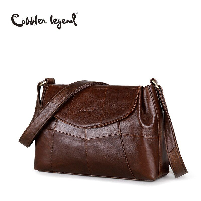 Cobbler Legend Elegant Women Messenger Bags For Women 2017 Crossbody Bags For Women Shoulder Genuine Leather Bags Baobao Brand