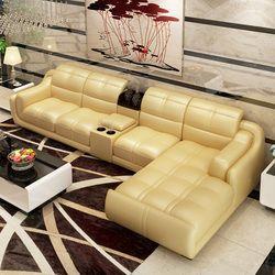 2014 customized  bonded leather sofa set home furniture #CE-302