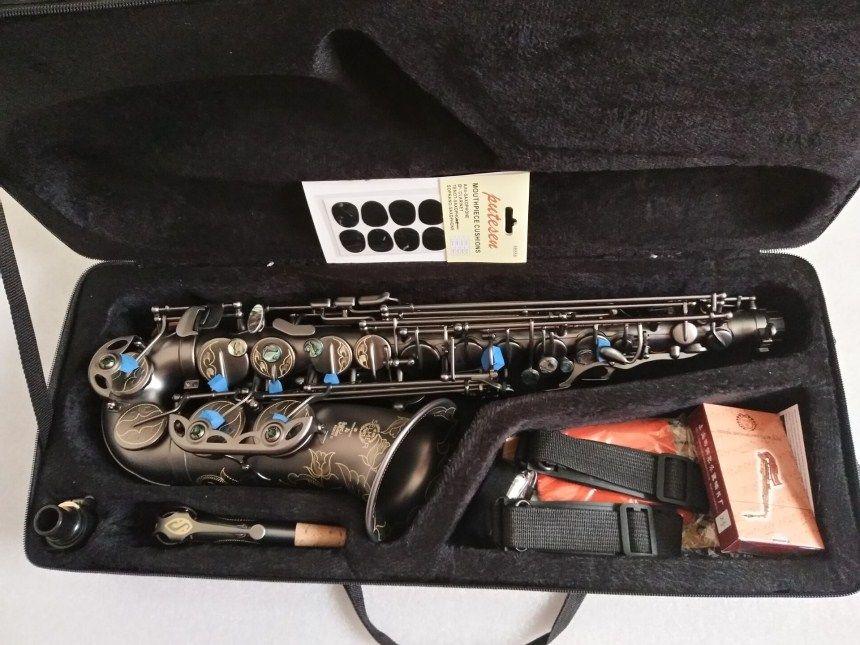 Heißer Frankreich Henri Selmer 80 Neue Saxophon E Flache Alto Hohe Qualität Schwarz saxophon Super Professionelle Musical Instruments