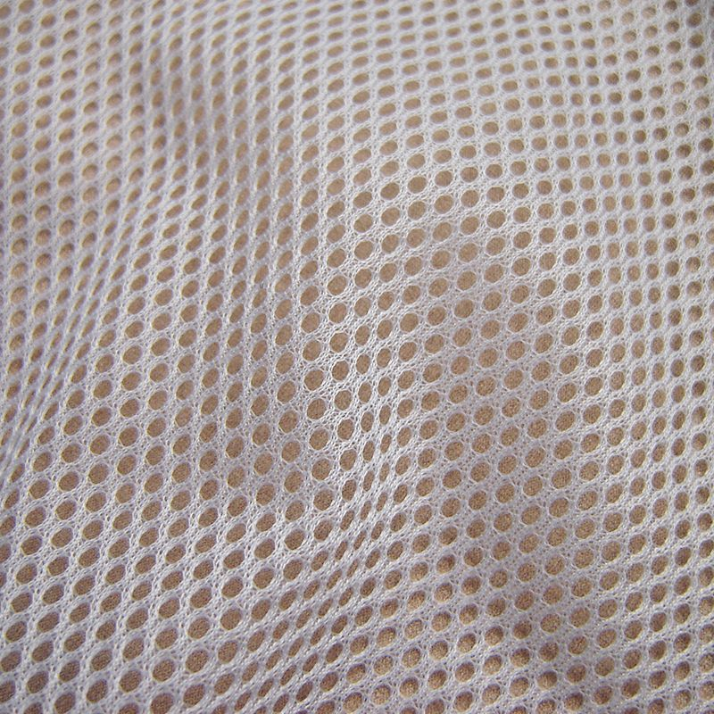 1 yard classique sport vêtements doublure maille tissu haute qualité polyester inélastique tissu uni teint multifonction couture tissu