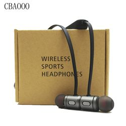 CBAOOO Bass Bluetooth Earphone Wireless Earphones Headset Stereo Magnetic Earbuds Bluetooth Headphones with Mic for Mobile phone