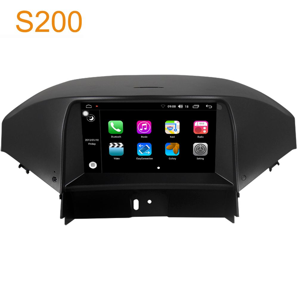 Winca S200 Android 8.0 PX5 Octa 8-Core CPU 32GB Rom Car DVD Radio GPS Navigation Head Unit for Chevrolet Orlando 2011-2015