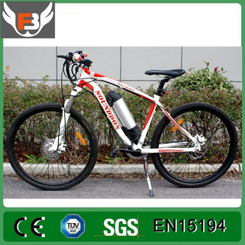 26 inch mountain bike aluminum alloy frame 350W/500W lithium battery electric bicycle battery change speed 21 speed disc brake.