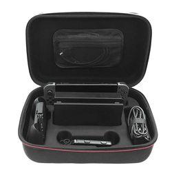 Portable Perjalanan Cangkang Keras untuk Nintend Switch Pelindung Penyimpanan Pouch Carrying Bag Case Penutup dengan Kompartemen R30