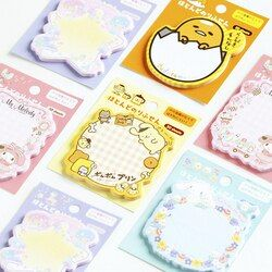 1X  Japan's sanrio sticky note Post  Memo Pad Kawaii School Supplies Planner Stickers Paper Bookmarks Korean Stationery