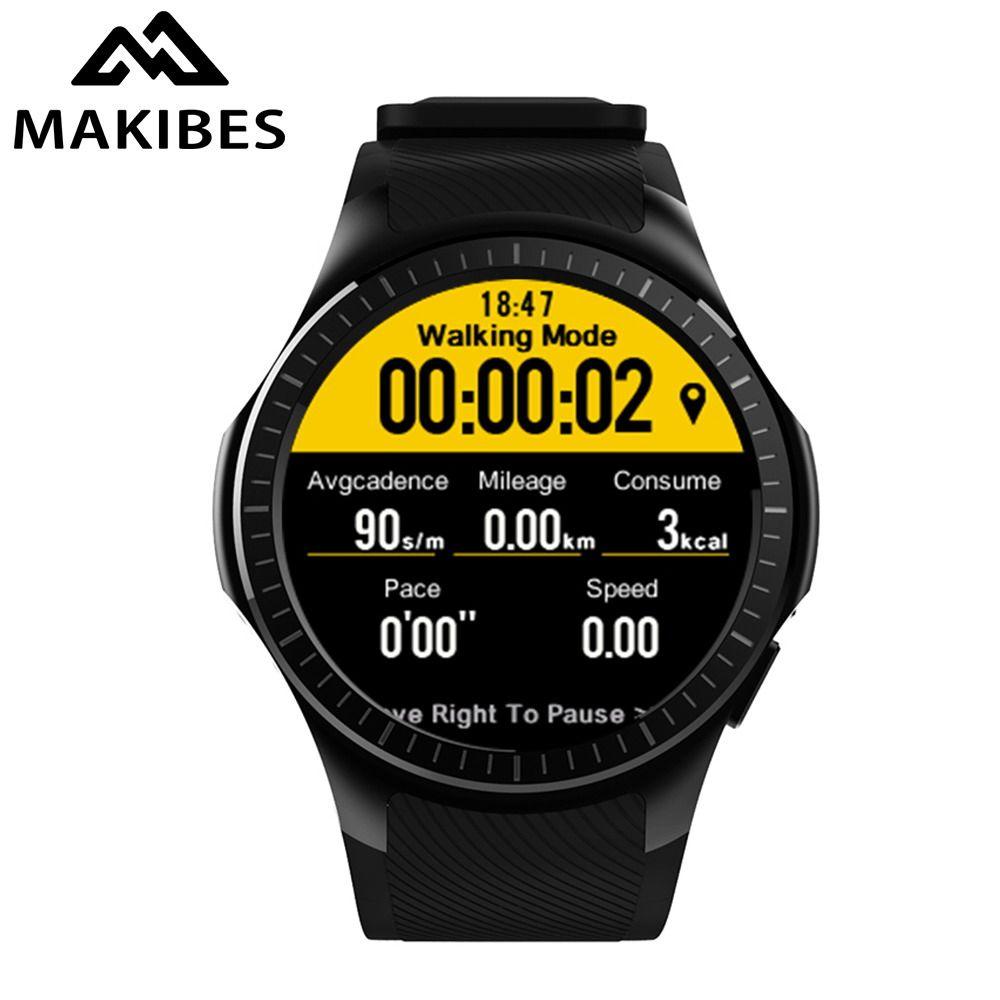 Makibes G05 Pro GPS Sports Watch Bluetooth Smart Watch Multiple Sports Heart Rate Blood Pressure Monitor Answer Call Camera SIM