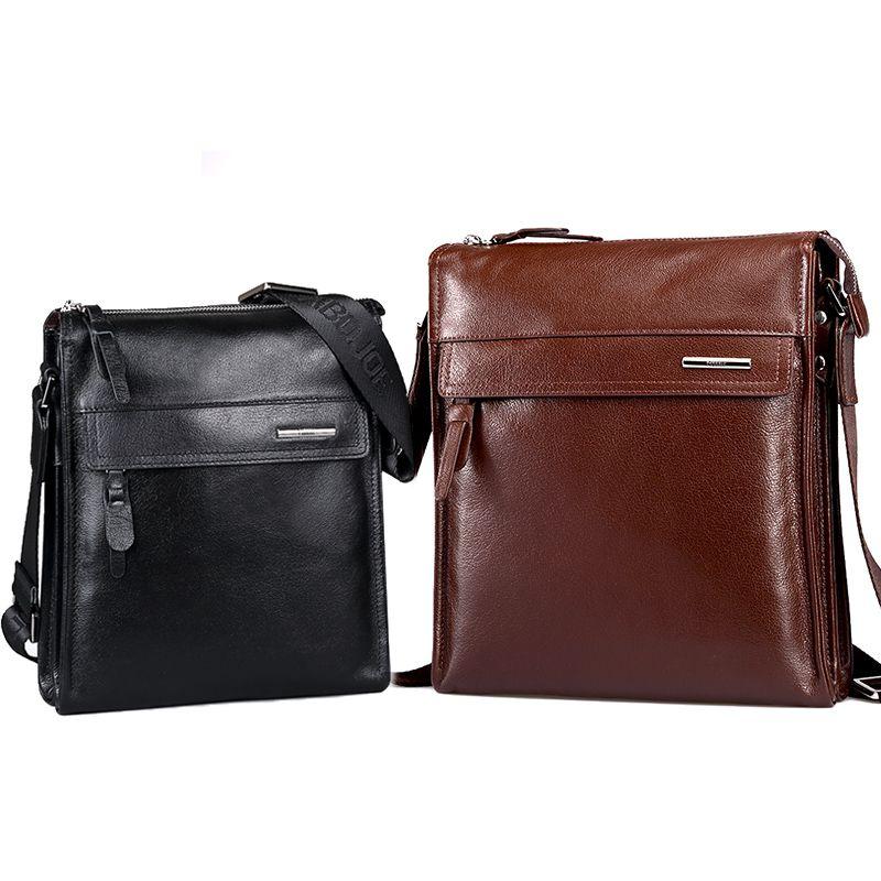Pabojoe Пояса из натуральной кожи flap messenger bag Стиль Для мужчин одноцветное сумка