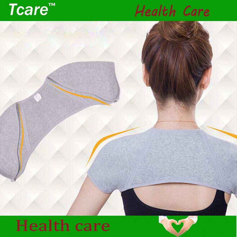 Tcare 1 pièces épaule Posture correcteur respirant Fiber de bambou épaule orthèse épaule Joint soin soutien bretelles soins de santé