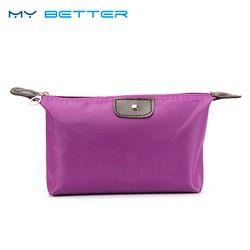 Многофункциональный Макияж сумка женская сумка-Органайзер для косметики коробка Дамская сумка нейлоновая дорожная сумка для хранения сум...