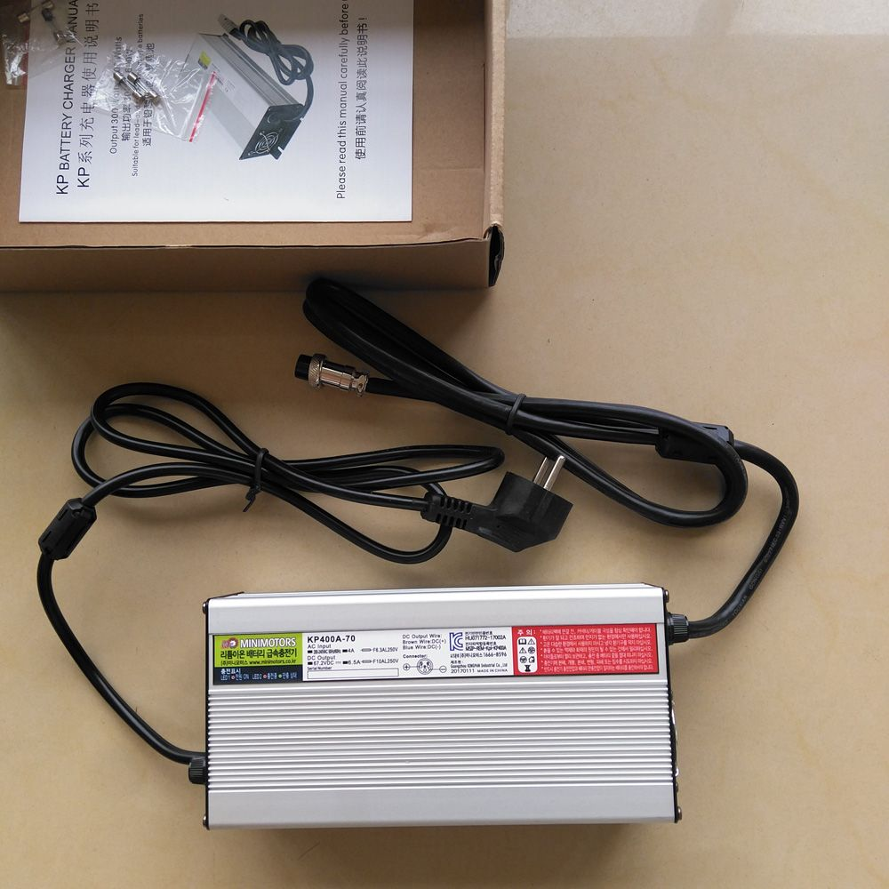 67,2 V 6.5A Schnelle Ladegerät für Dualtron 3 Ultra und Dualtron II