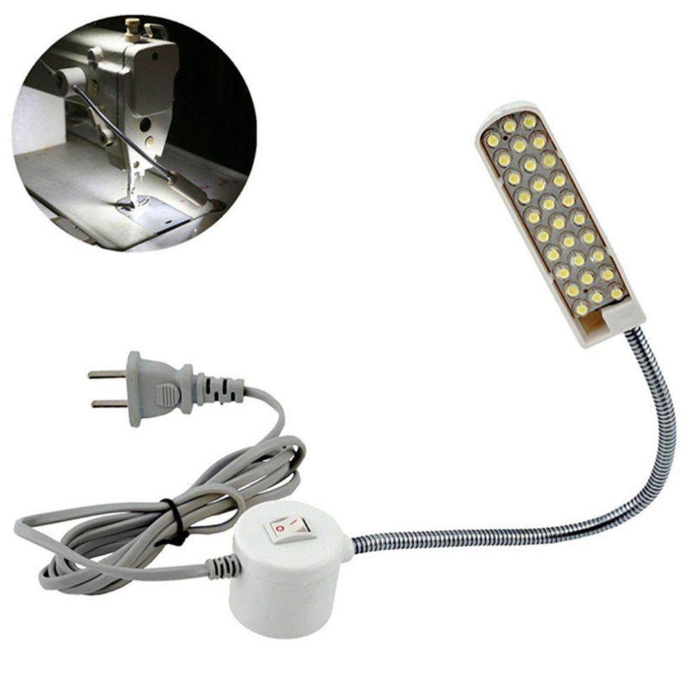 Industrielle beleuchtung Nähen Licht maschine lampe 30 led-lampen werkzeuge zubehör tisch schwanenhals magnetmontagesockel AC 110-220 V