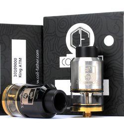 Bobina padre rey RDTA estilo 810 RDA RTA 3,5 ml capacidad 25mm tanque vaporizador para cigarrillo electrónico caja Mod hookah Vape atomizador