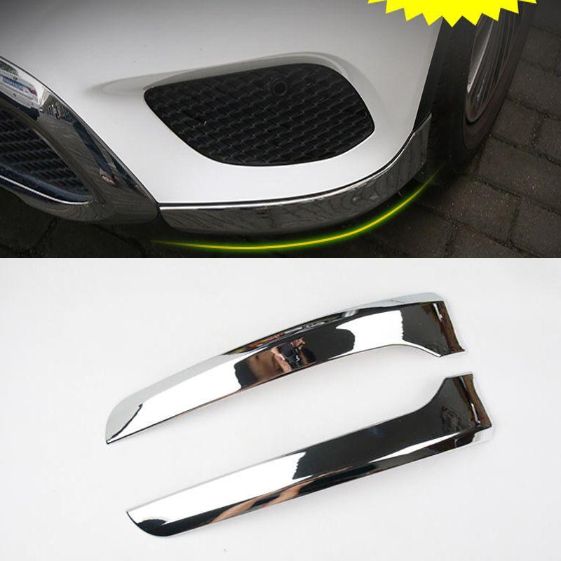 Car Styling For Mercedes Benz GLC Class X253 2016 2017 Front Bumper Lip Spoiler Canards Splitter Corner Protector Cover