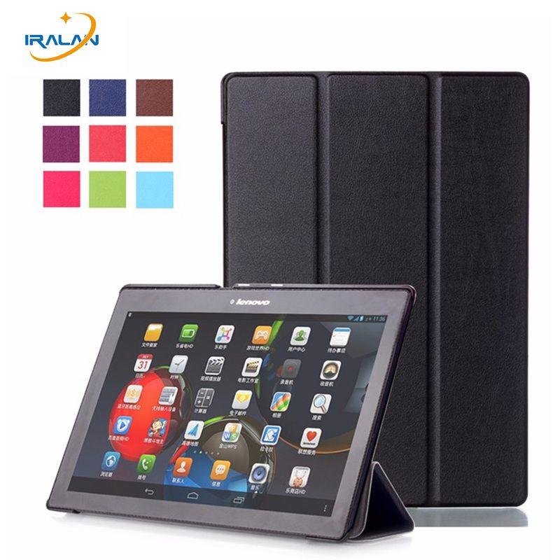Hot 3 en 1 pour Lenovo Tab 2 A10-70F/L couverture 10.1 pouces magnétique Smart stand Flip pour A10-30 X30F tab3 10 affaires TB3-X70F/M étui