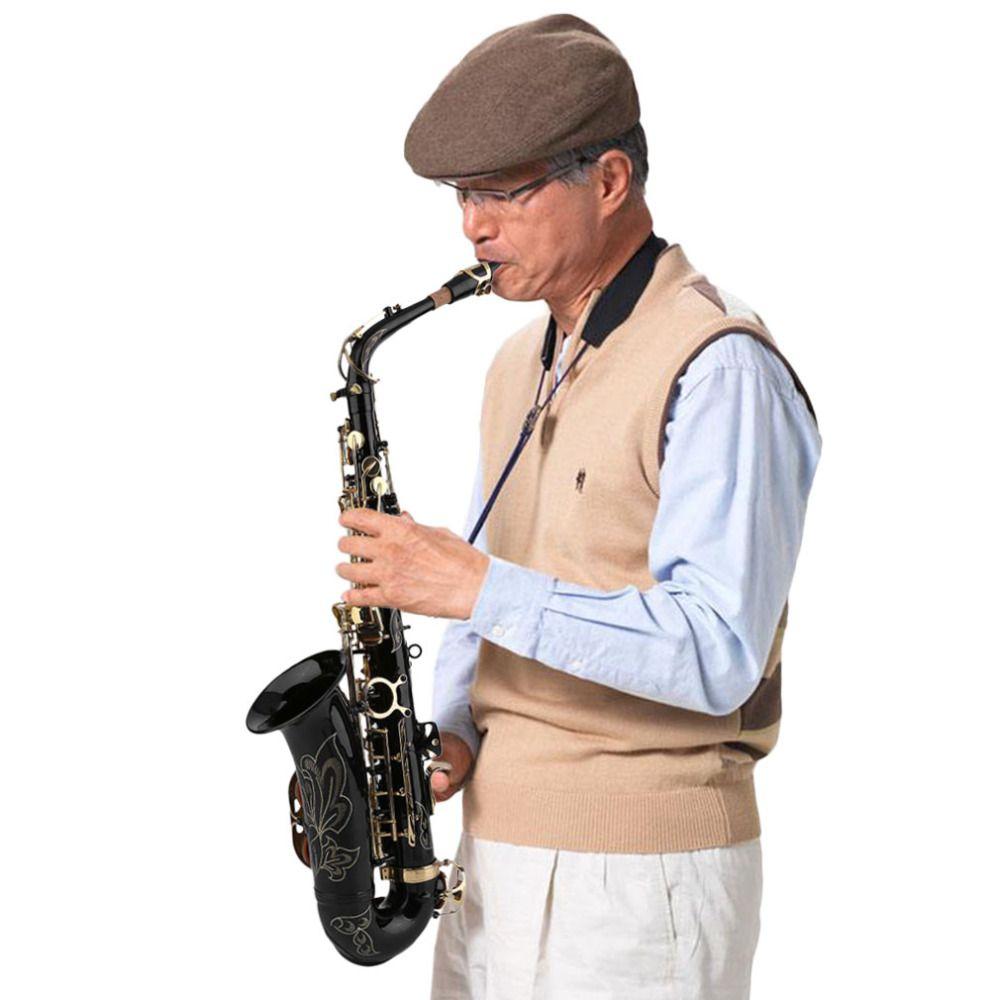 New Eb Alto Saxophone Sax Set Durable Bass Body Professional Music Instruments Personal Eb Alto Saxophone Sax Kits Gifts