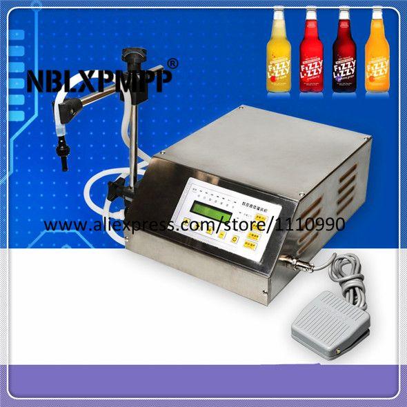 NBLXPMPP Lowest Factory Price Highest Quality Digital GFK-160 liquid filler perfume drink water milk Bottle filling machine