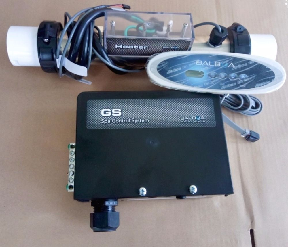 hot tub controller pack Balboa Control box pack GS100 + VL260 topside panel for simple pool bath