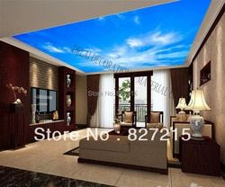 S-3610 blue sky pvc ceiling film famous led strip construction material available for ceiling panel