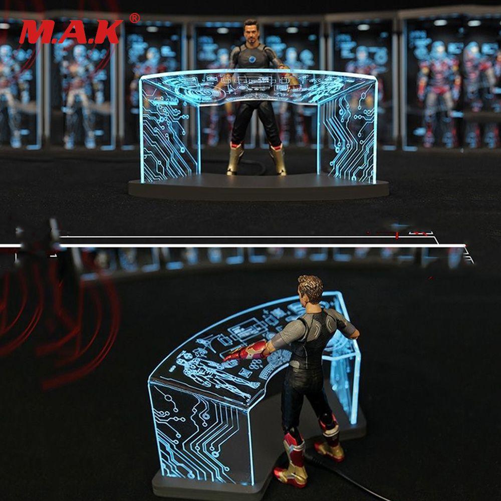 1/12 comicave 6''pass type SHF Workshop Scene Test Desk for iron man Toni scene debugging table