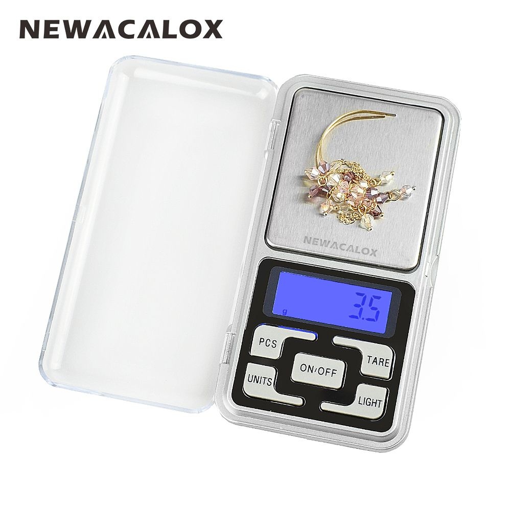 500g x 0.1g Mini Pocket Digital Scale for Gold Sterling Silver Jewelry Scales 0.1 Display Units Balance Gram Electronic Scales