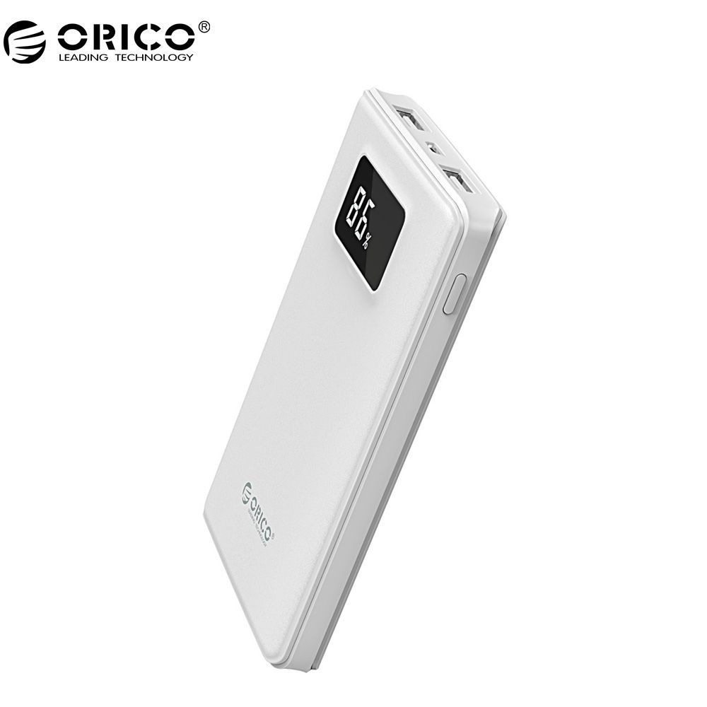 ORICO L8000 Dual Output Power Bank With a 30cm Cable Portable Li-polymer Battery For Smart Phone