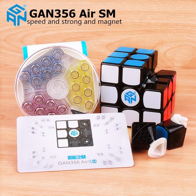 GAN 356 Air SM 3x3x3 with magnetic puzzle magic speed cube professional gans 356 professional cubo magico Gan356 Air version 249
