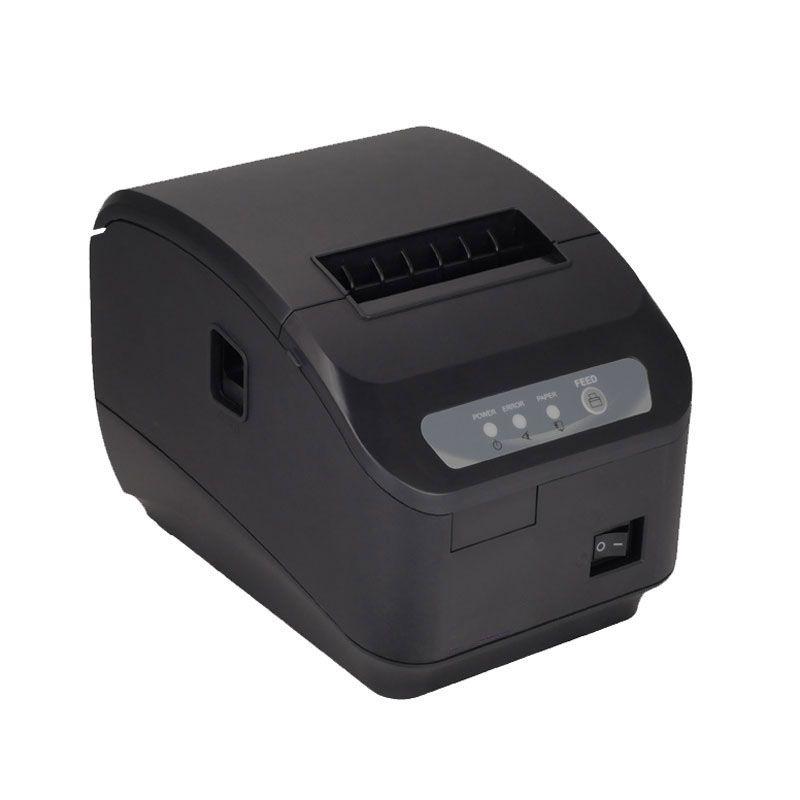 High quality 200mm/s thermal printer 80mm POS printer Kitchen printer Auto Cutter printer with USB+Serial / Lan Port