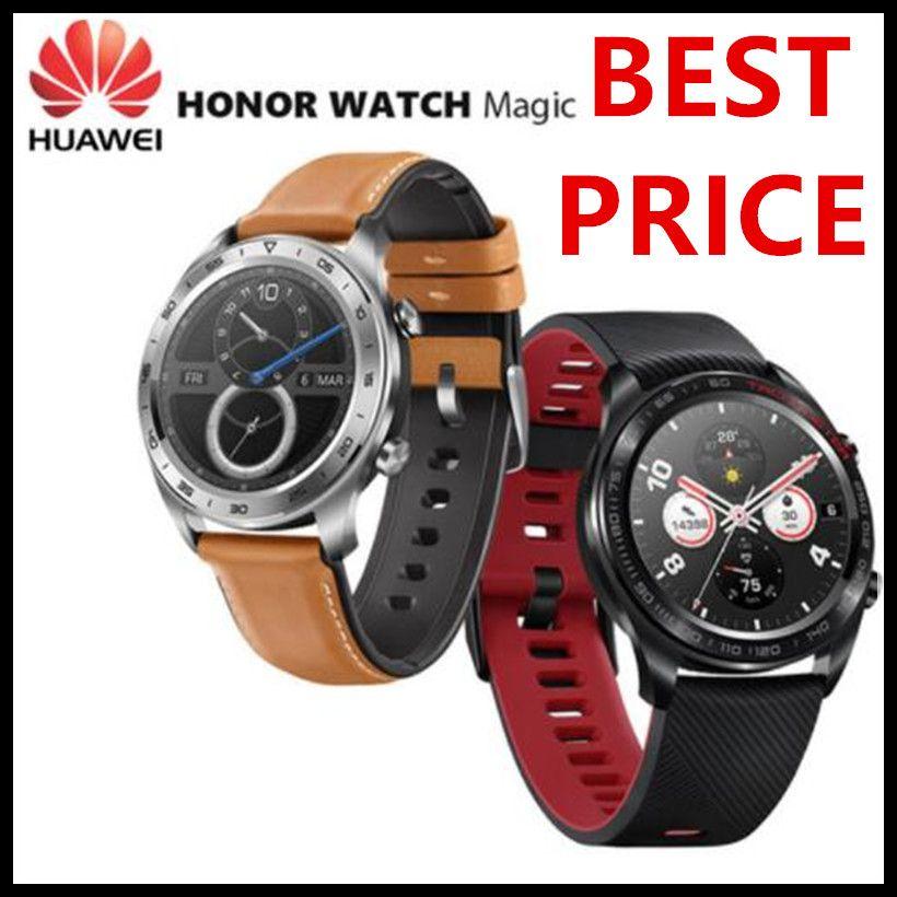 Original Huawei Honor Uhr Magie Außen Smart Uhr Schlanke Dünne Lange Batterie Lebensdauer GPS Wissenschaftliche Coach Amoled Farbe 1,2