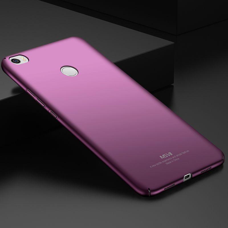 Xiao mi mi max 2 Cas ultra Mince Xiao Mi Mi max couverture arrière de Luxe 64 128 Gb Pour xiao mi mi max 2 Mat cas 6.44 Coque accessoires