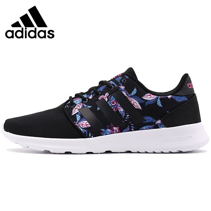 Original New Arrival 2017 Adidas NEO Label CLOUDFOAM QT RACER W Women's Skateboarding Shoes Sneakers