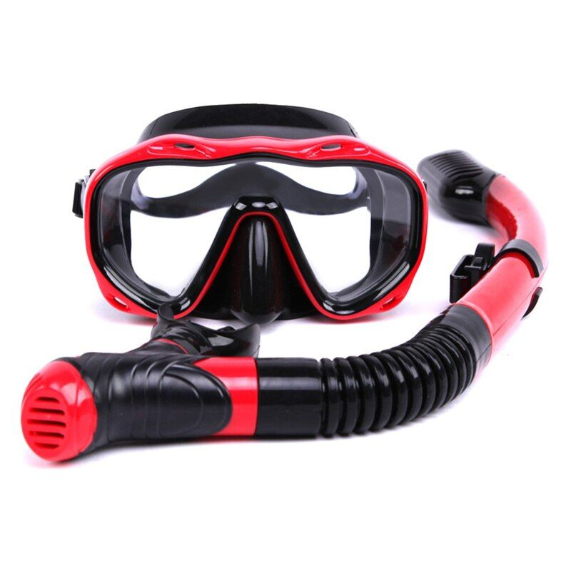 Snorkeling Professional Diving Mask Breathing tube Set Food grade silicone Material Water sports High Quality Waterproof Adult