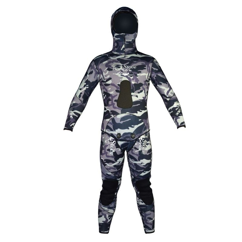 Diving Suit For Men Spearfishing 7mm Neoprene Underwater Hunting Wetsuit Camouflage Swimsuit Scuba Dive Swimwear