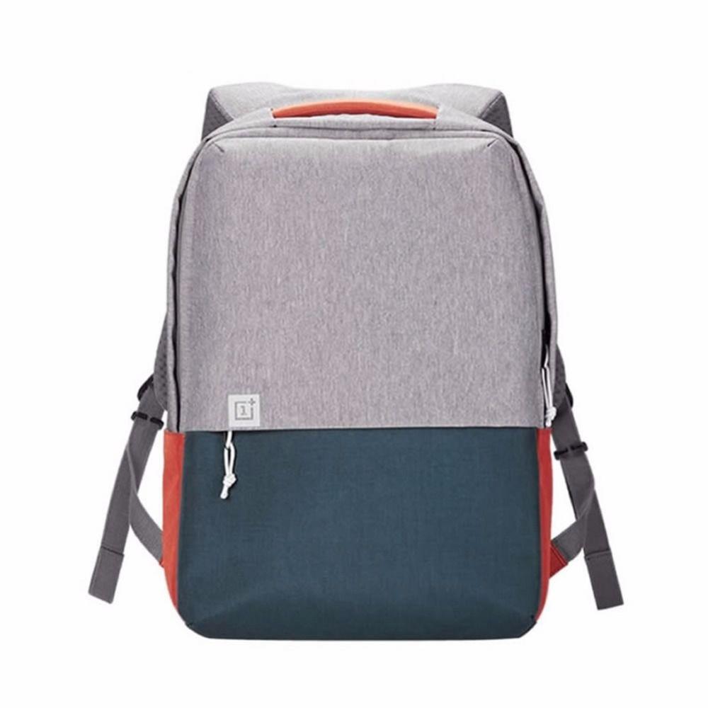 OnePlus Männer Leinwand Laptop Backpacs Für 16 Zoll Teens Mode Rucksack Freizeit Laptop Rucksack Reisetaschen Hohe Studenten Bookbag