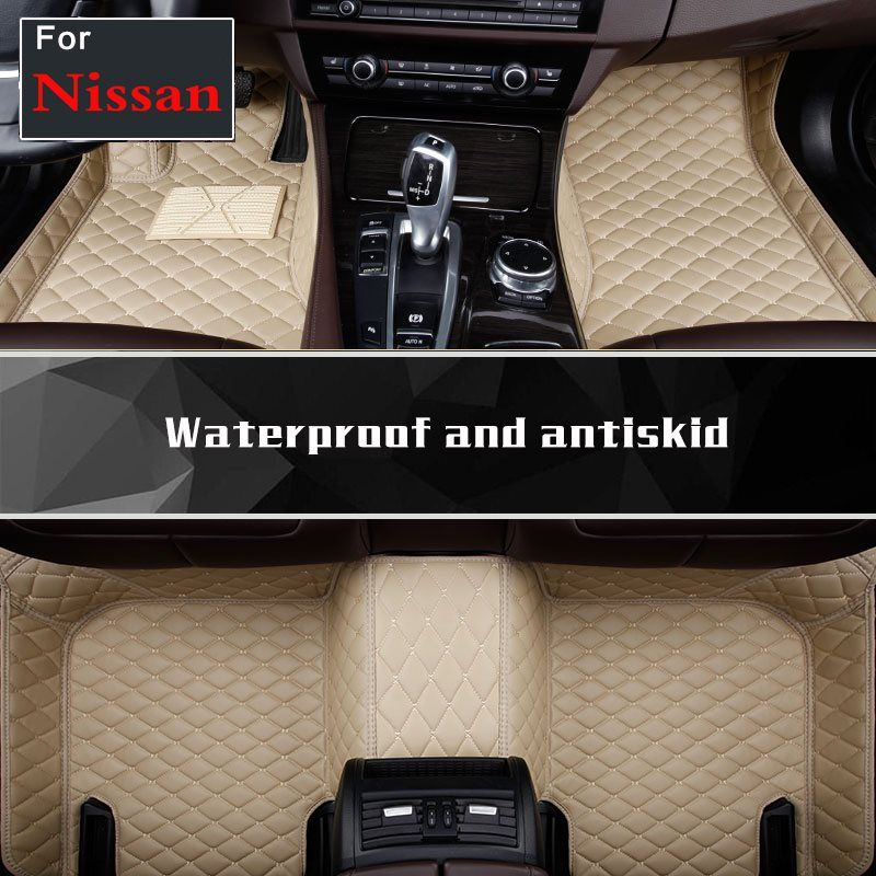 car floor mats for Nissan Patrol Y62 Teana X-Trail car accessories auto sticks Custom foot