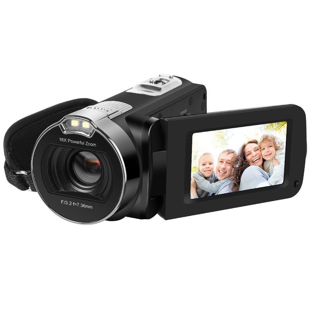 HDV 312P HD Camera Camcorders 1080P 24MP 16X Digital Zoom Video Camcorder 2.7