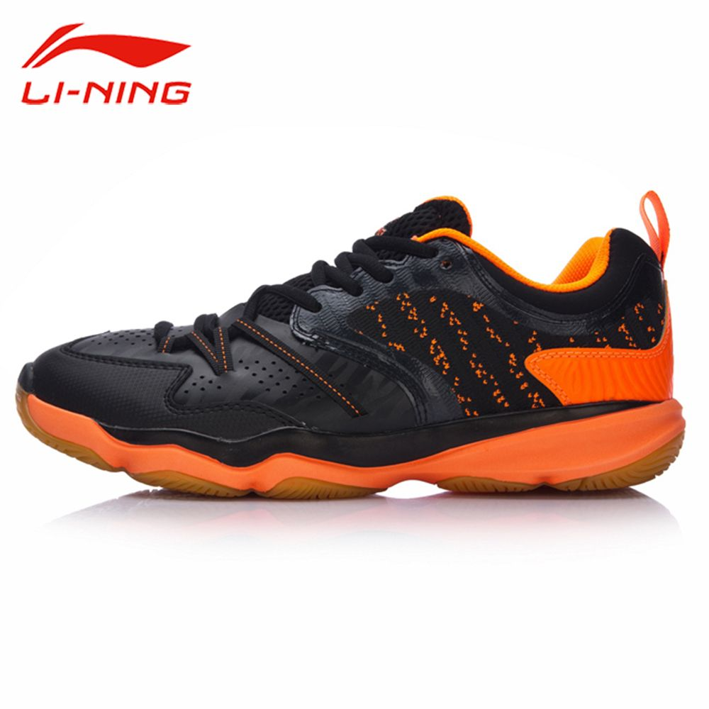 Li-Ning Men RANGER TD Badminton Training Shoes TPU Support Breathable Sneakers Li Ning LINING Professional Sports Shoes AYTM081