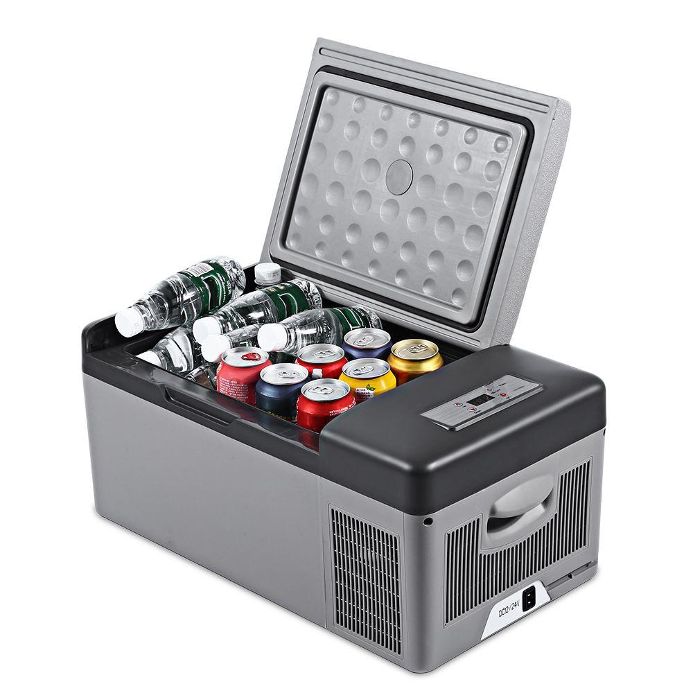 Zeepin C15 15L AC / DC Portable Car Refrigerator 40W Quick Refrigeration Geladeira Car Fridge for Home Picnic Camping Party