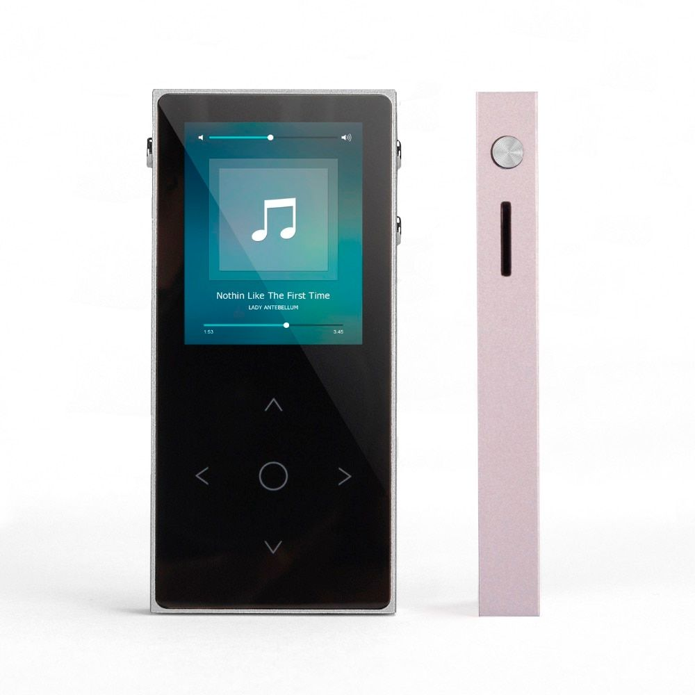 New BENJIE X1 MP3 Player Touch Screen FM Radio Record Ebook Lossless Music APE FLAC Digital Audio Player 8GB 100hour Playback