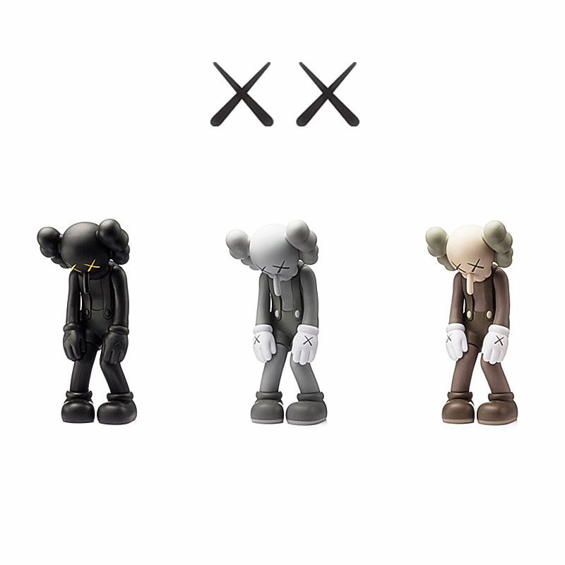 Trend Artists KAWS Small Lie Long Nose Toys Original Fake Medicom Toy Action Figure Collection Model Toy G1492
