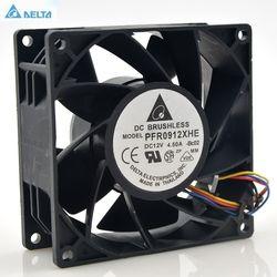 PFR0912XHE Delta 9 CM 90mm 4.5A 90*90*38mm DC 12 V Server Ekstensi mesin pendingin fan