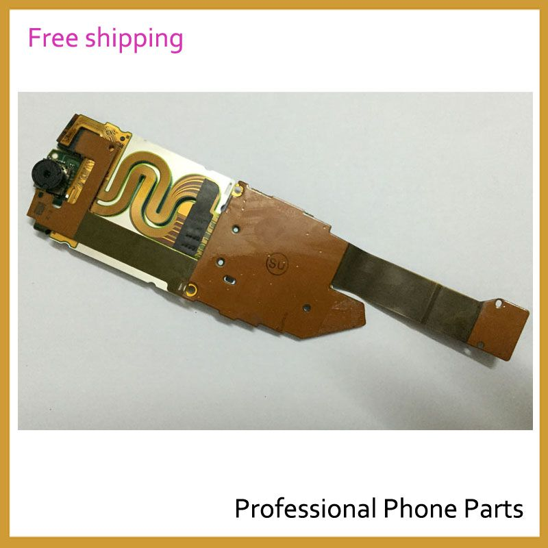 Original Flex Cable Ribbon For Nokia 8800 Sirocco LCD Screen Display+ Flex cable+Camera With Flex Replacement, Free Shipping