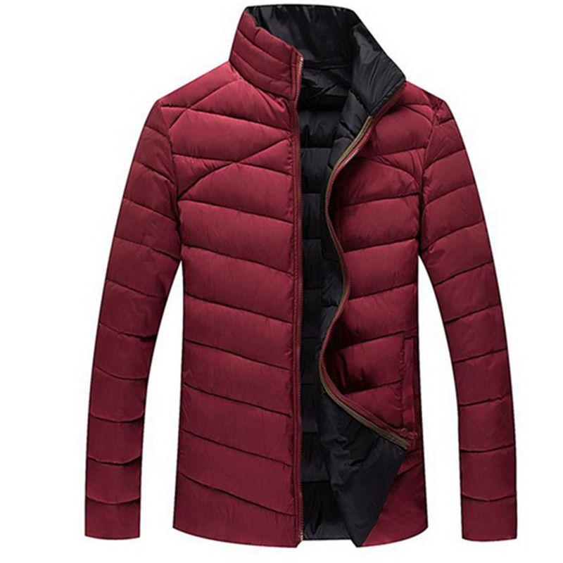 2017 New plus size Winter down coat Fat people men's clothing down coat winter jacket men duck down
