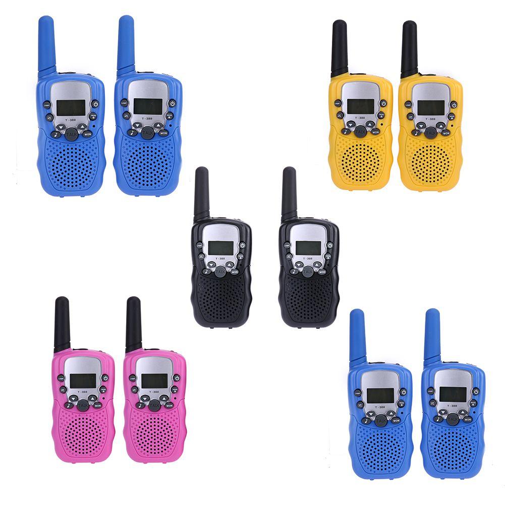 2pcs/pair Mini Walkie Talkie Kids Radio Retevis RT-388 0.5W 5km UHF 446MHz EU Frequency Portable Two Way Radio Christmas Gift