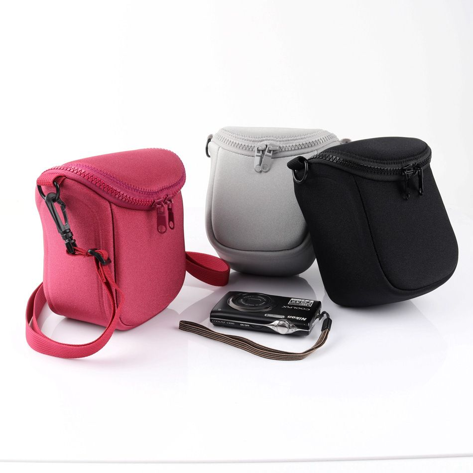 Waterproof Camera Bag For Canon EOS M3 M10 M100 M M2 G7X2 Nikon 1J4 J3 J5 Sony A5000 A5100 A6000 A6300 16-50 Lens Samsung NX3000