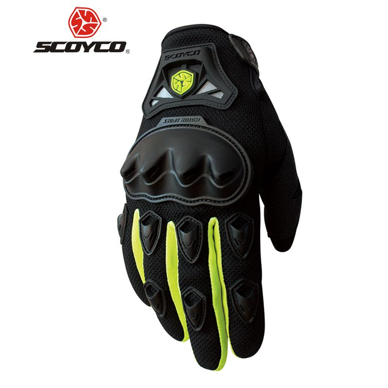 SCOYCO Motorcycle Gloves Summer Breathable Wearable Protective Guantes Moto Luvas Alpine Motocross Stars Gants Moto Verano guant