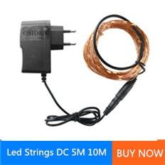 led strings with power
