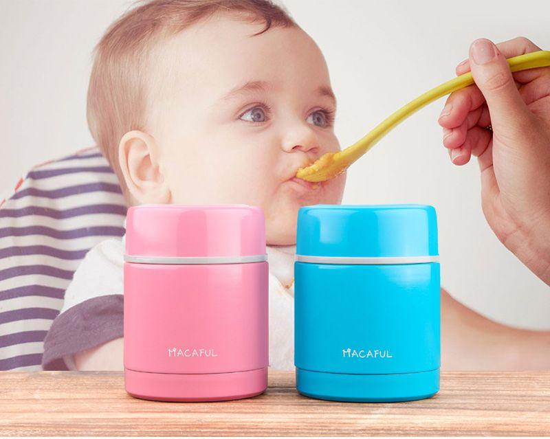 Японский нержавеющей стали термос коробка обеда с вакуумной изоляцией пищевых контейнеров дети коробка еды закуска для суп 300 мл